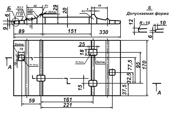 Подкладка СД-65